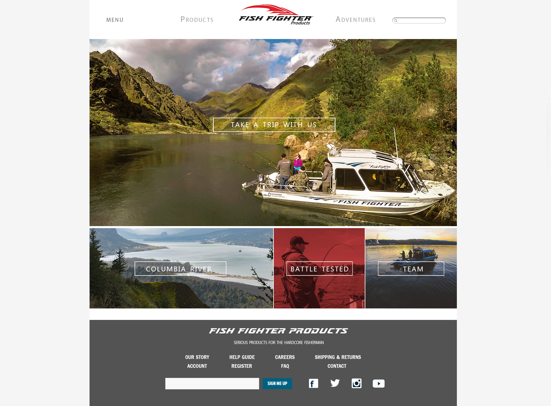 Fish Fighter Webpage